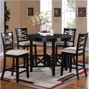 Standard Furniture Epiphany  Counter Height Table and Chair Set