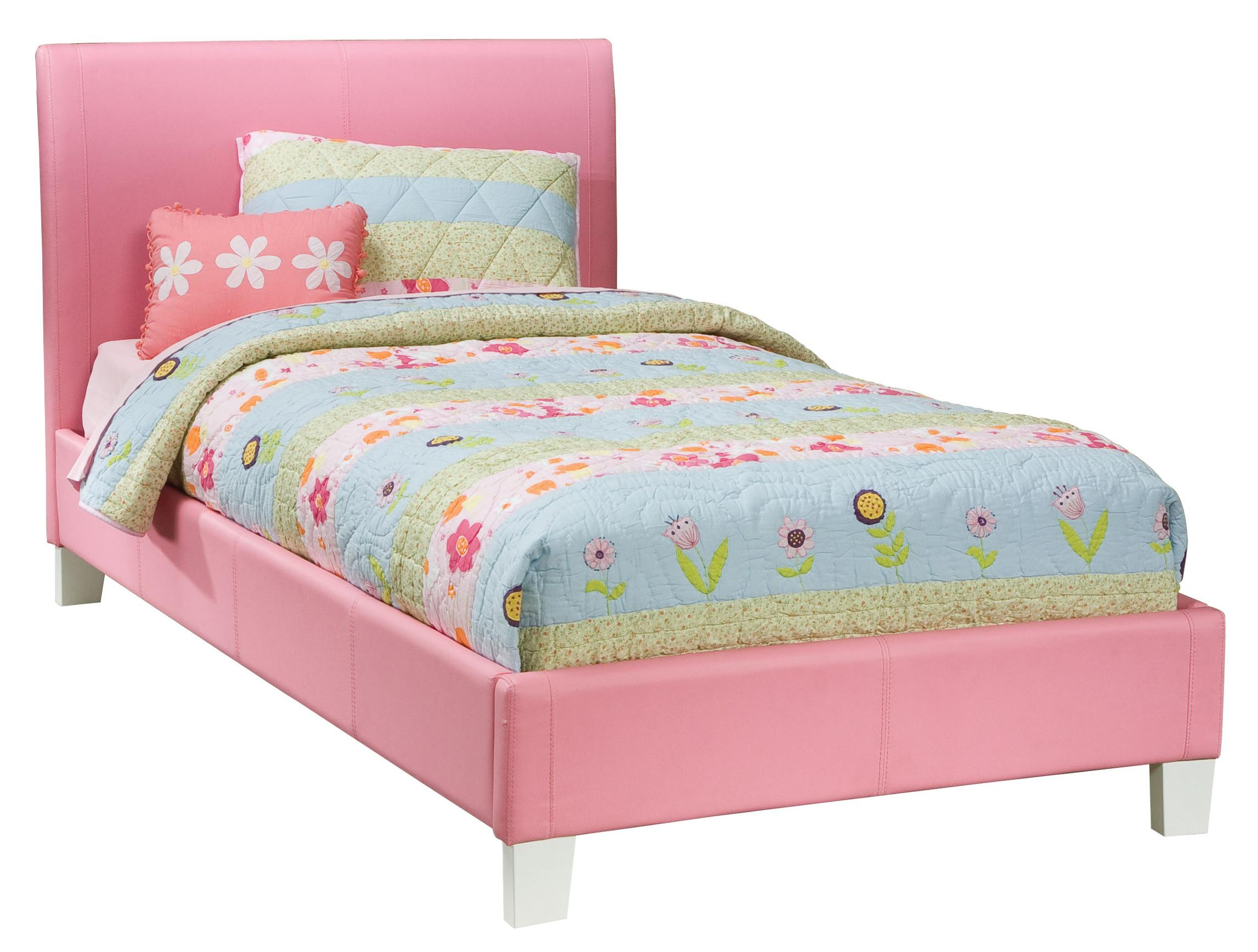 Full Upholstered Youth Bed By Standard Furniture Wolf