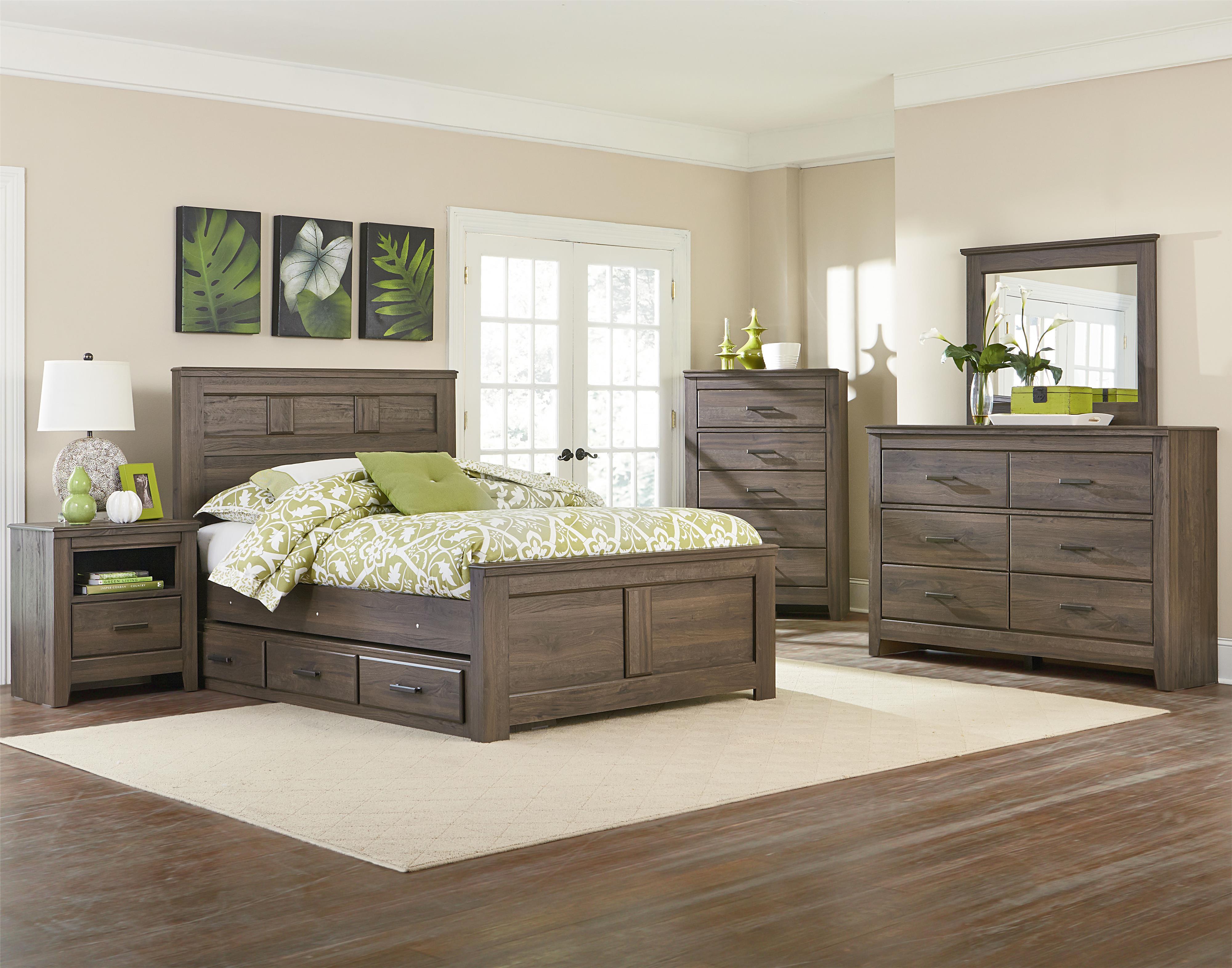 Queen bedroom group low price guarantee badge by standard furniture