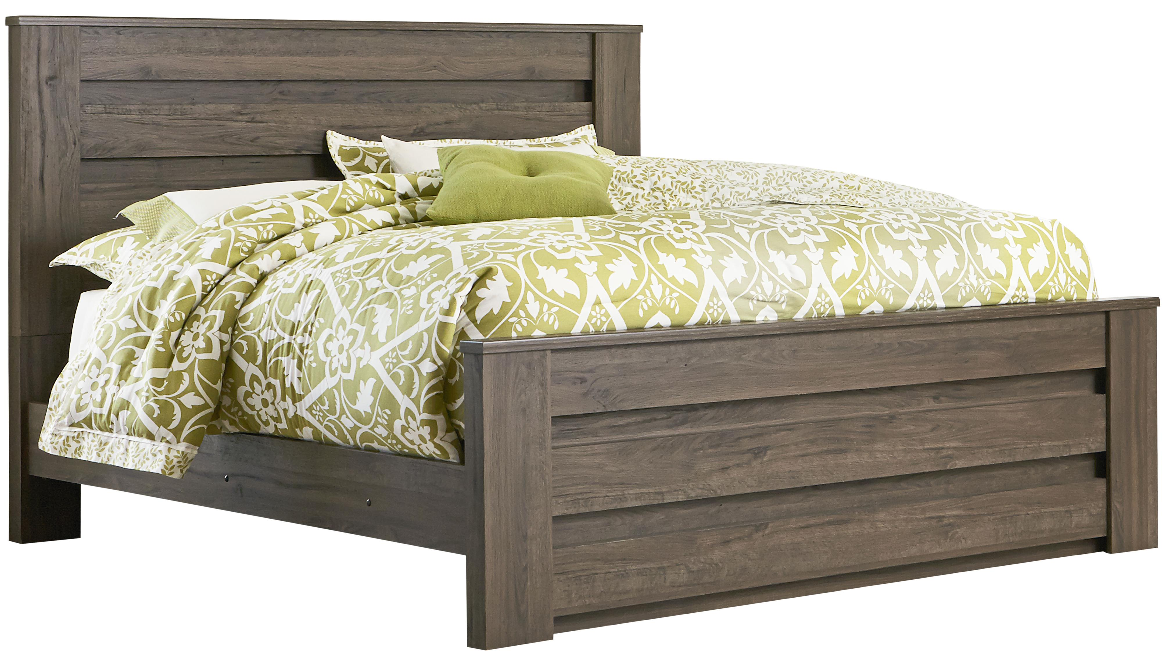 Mansion Bedroom Furniture King Mansion Bed With Thick Panels By Standard Furniture Wolf