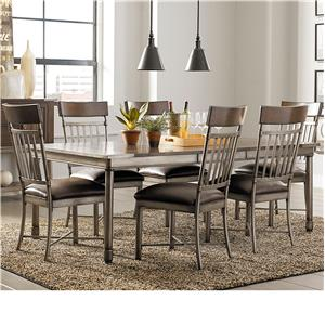 Standard Furniture Hudson Dining Table and Chair Set