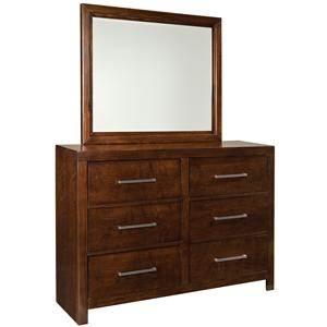 Standard Furniture Metro Dresser & Mirror Set