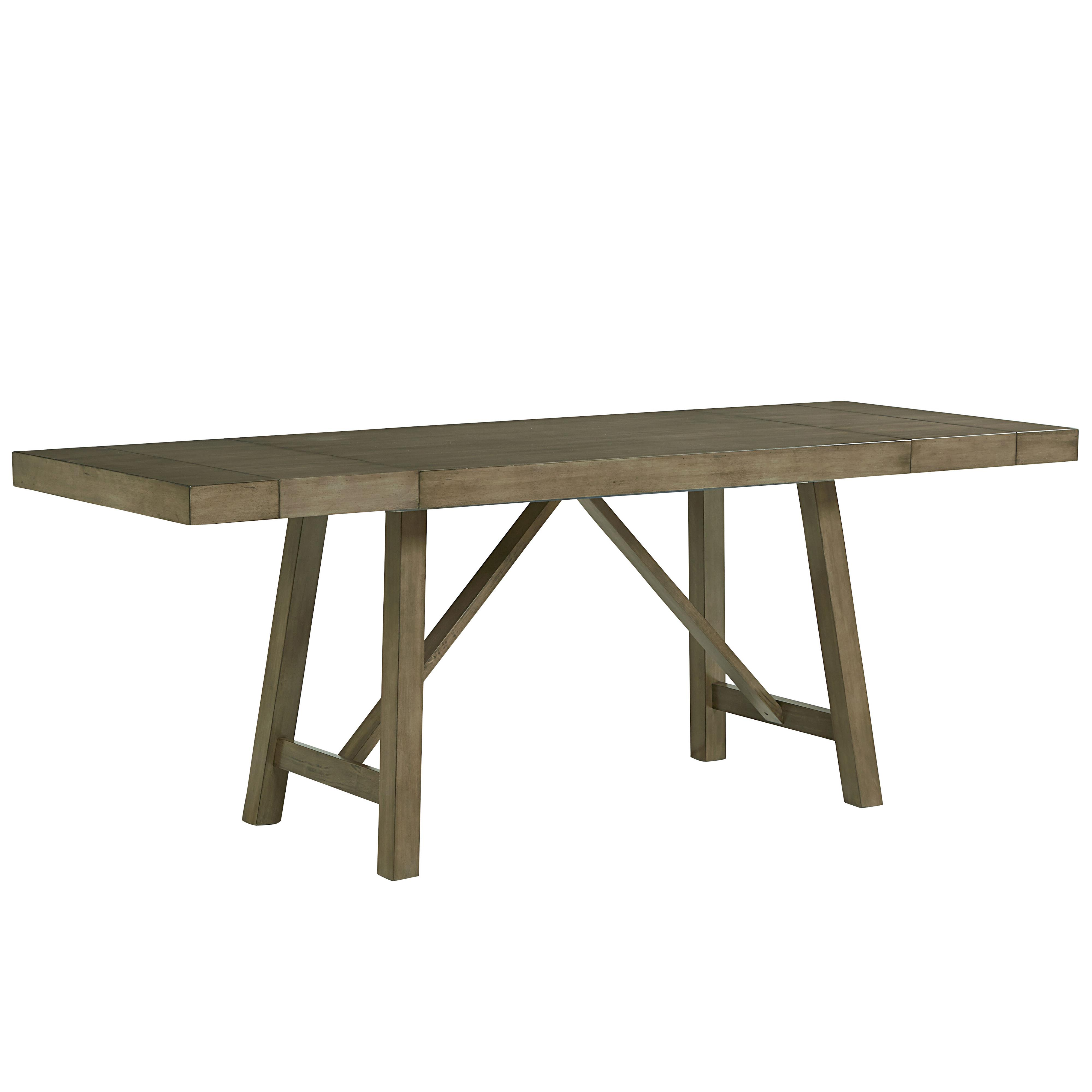 Standard Height Of Dining Room Table Counter Height Dining Room Table With Trestle Base By Standard