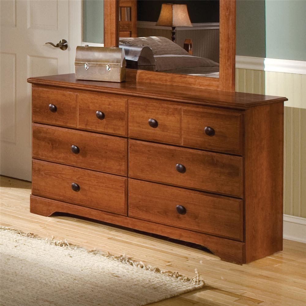6 Drawer Dresser By Standard Furniture Wolf And Gardiner Wolf Furniture
