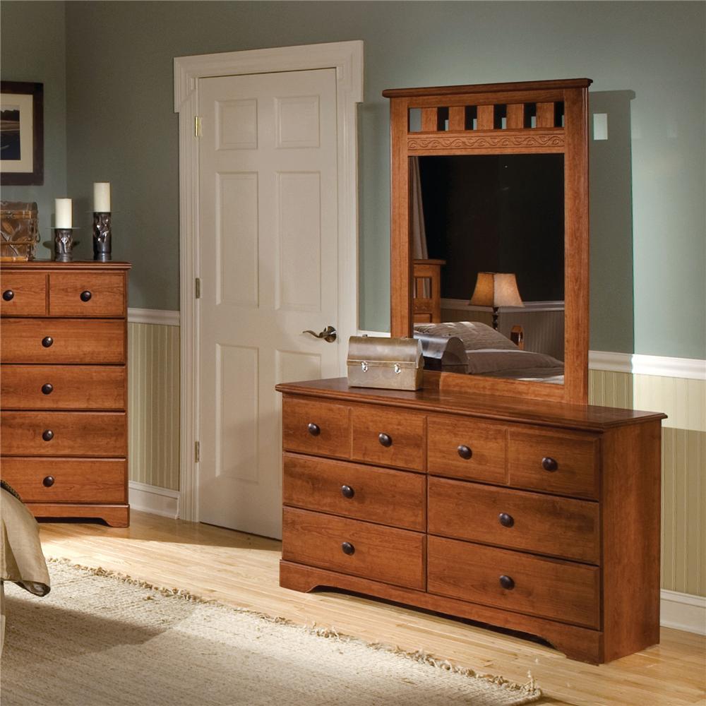 6 Drawer Dresser By Standard Furniture Wolf And Gardiner Wolf Furniture