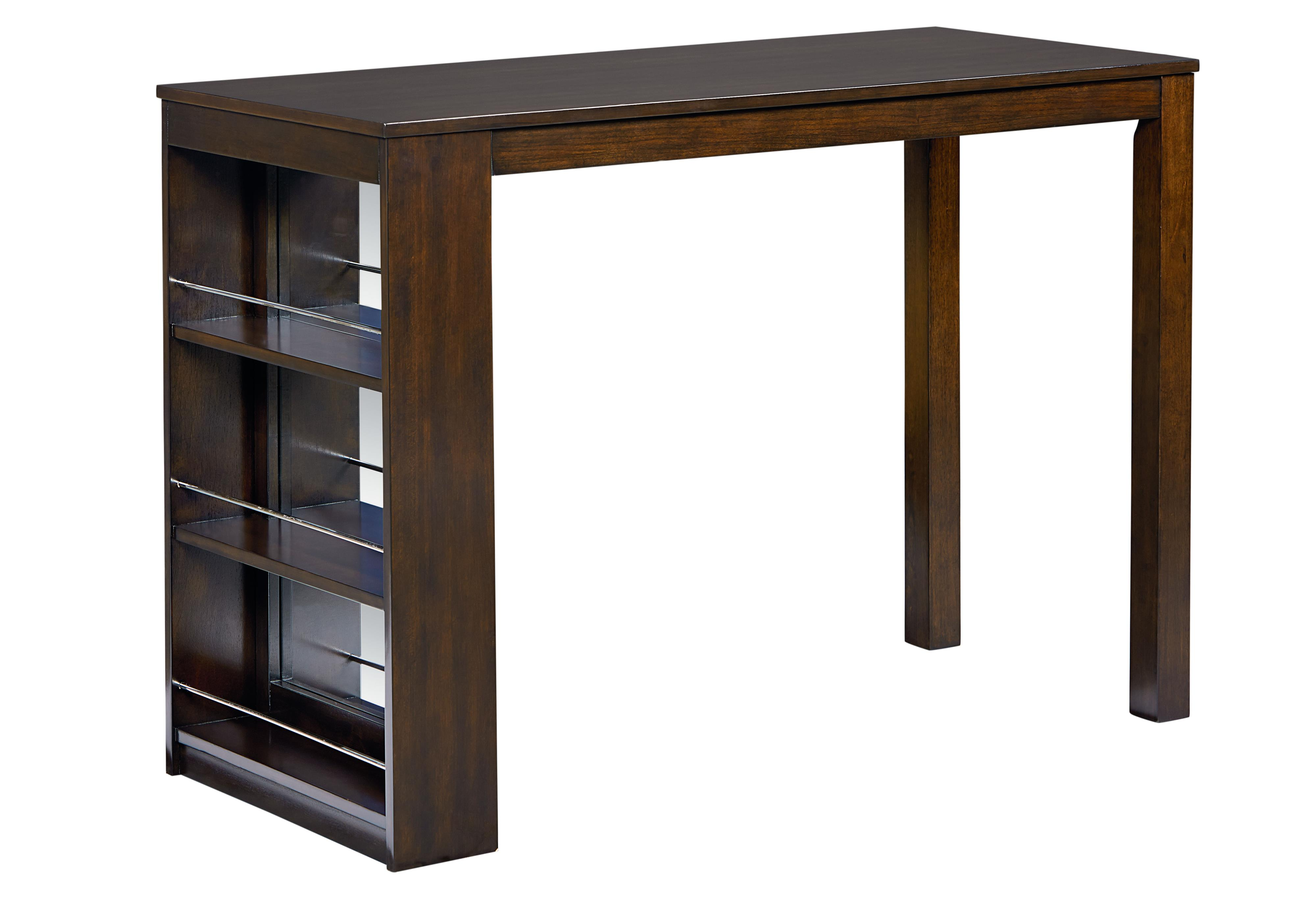 Modern Counter Height Table With Storage