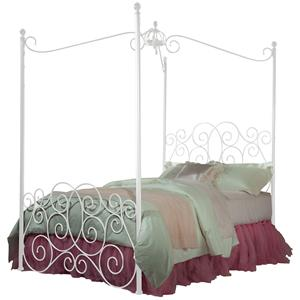Standard Furniture Princess Canopy Beds Full Headboard & Footboard Bed