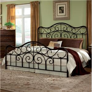 Standard Furniture Santa Cruz Queen Metal Bed