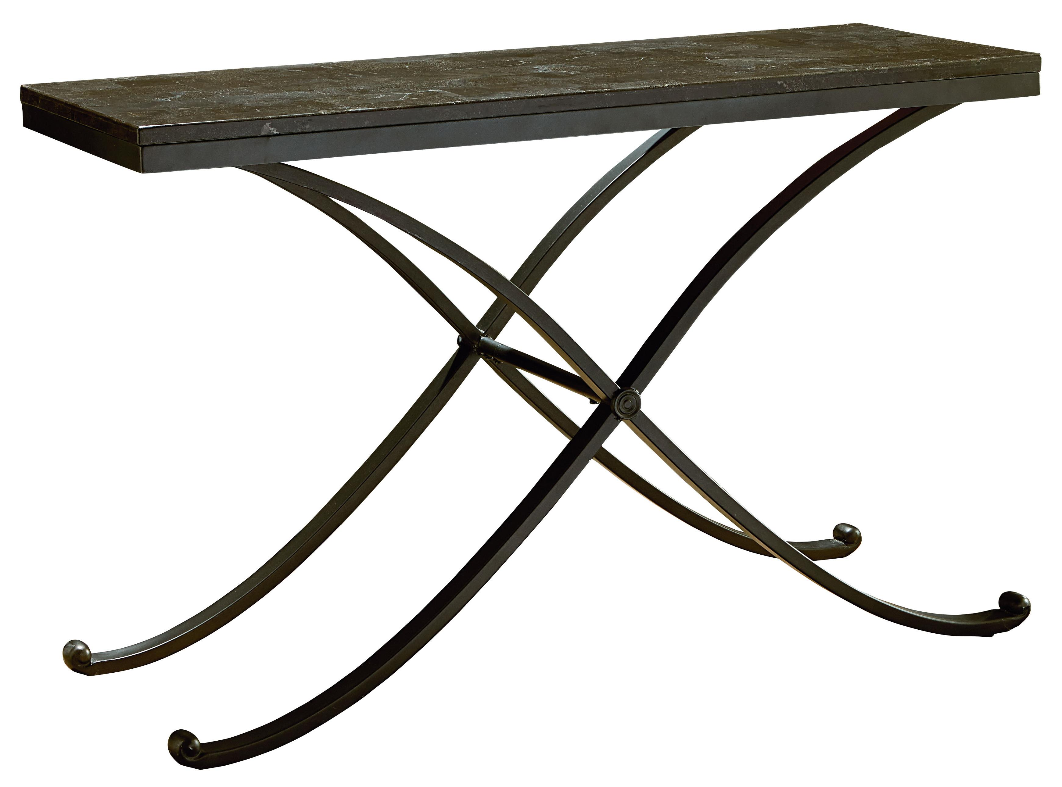 Metal sofa table with stone top by standard furniture wolf and metal sofa table with stone top geotapseo Image collections