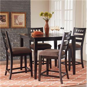 Standard Furniture Sparkle 5-Piece Gathering Table Set
