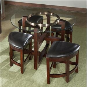 Standard Furniture Coronado 5 Piece Counter Height Table & Chair Set
