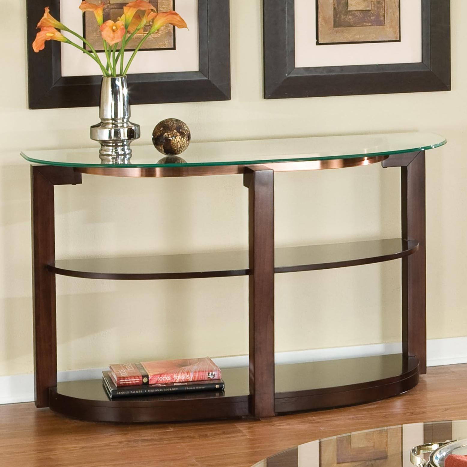 Glass Top Sofa Table By Standard Furniture