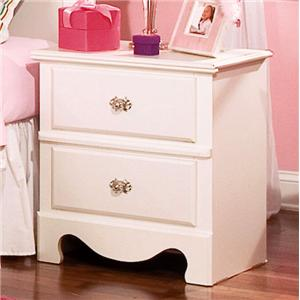 Standard Furniture Spring Rose Nightstand