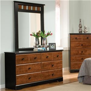 Standard Furniture Steelwood Dresser and Mirror Combinations