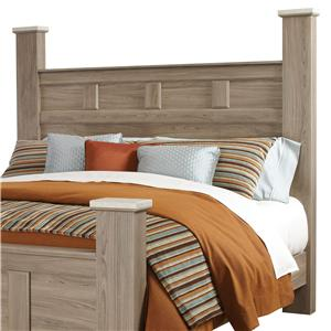 Standard Furniture Stonehill King Poster/Panel Headboard