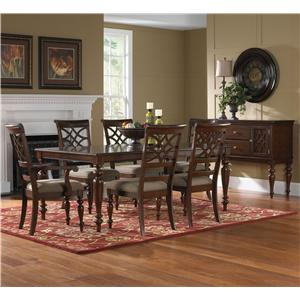 Standard Furniture Woodmont 7 Piece Table & Chair Set