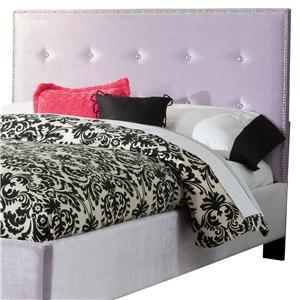 Standard Furniture Young Parisian Full Upholstered Headboard