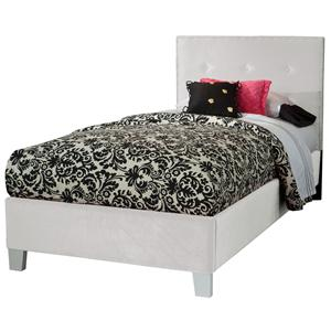 Standard Furniture Young Parisian Twin Upholstered Bed