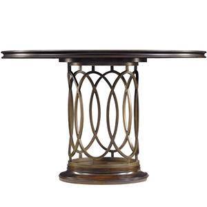 Stanley Furniture Avalon Heights Neo Deco Pedestal Table