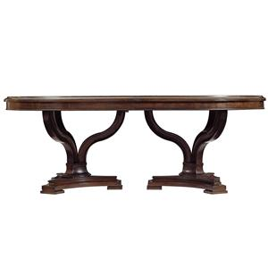 Stanley Furniture Avalon Heights Art Epoch Double Pedestal Table
