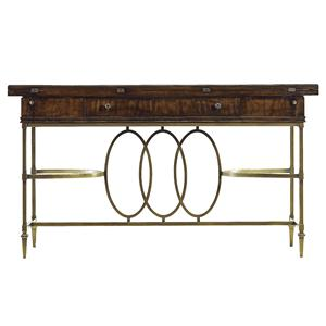 Stanley Furniture Avalon Heights Neo Deco Flip Top Console Table