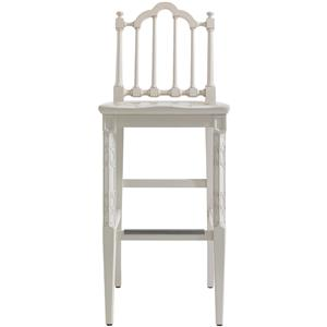 Stanley Furniture Charleston Regency Chippendale Bar Stool