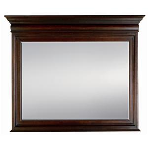 Stanley Furniture City Club Barrister Landscape Mirror