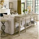 Stanley Furniture Coastal Living Resort 3 Drawer Palisades Sofa Table - Shown with Palisades Sofa Table and Sol Playa Martini Table