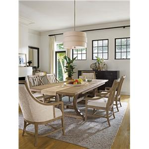 Stanley Furniture Coastal Living Resort Formal Dining Room Group
