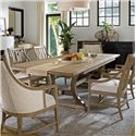 Stanley Furniture Coastal Living Resort 7 Piece Shelter Bay Table and Chair Set