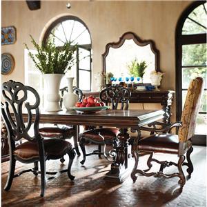 Stanley Furniture Costa del Sol 7 Piece Dining Set