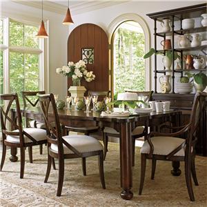 Stanley Furniture European Farmhouse 7 Piece Set
