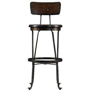 Stanley Furniture European Farmhouse Artisan's Apprentice Barstool