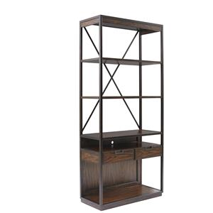 Stanley Furniture Newel Display Bookcase