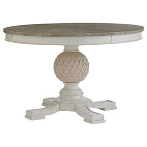 Stanley Furniture Preserve Artichoke Pedestal Table