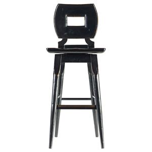 Stanley Furniture The Classic Portfolio Artisan Wood Bar Stool