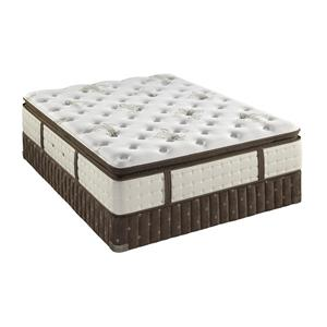 Stearns & Foster Cortazar Plush Pillow Top Queen Plush Euro Pillow Top Mattress