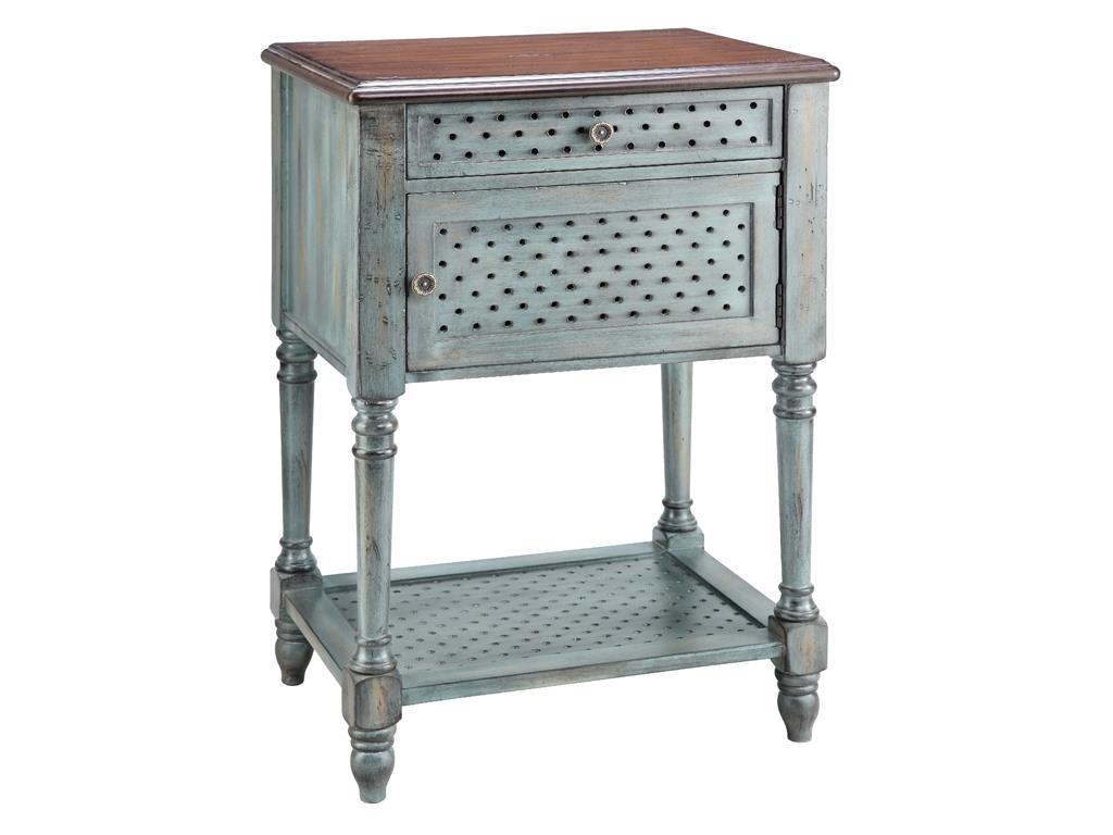 Accent Table 1 Door 1 Drawer