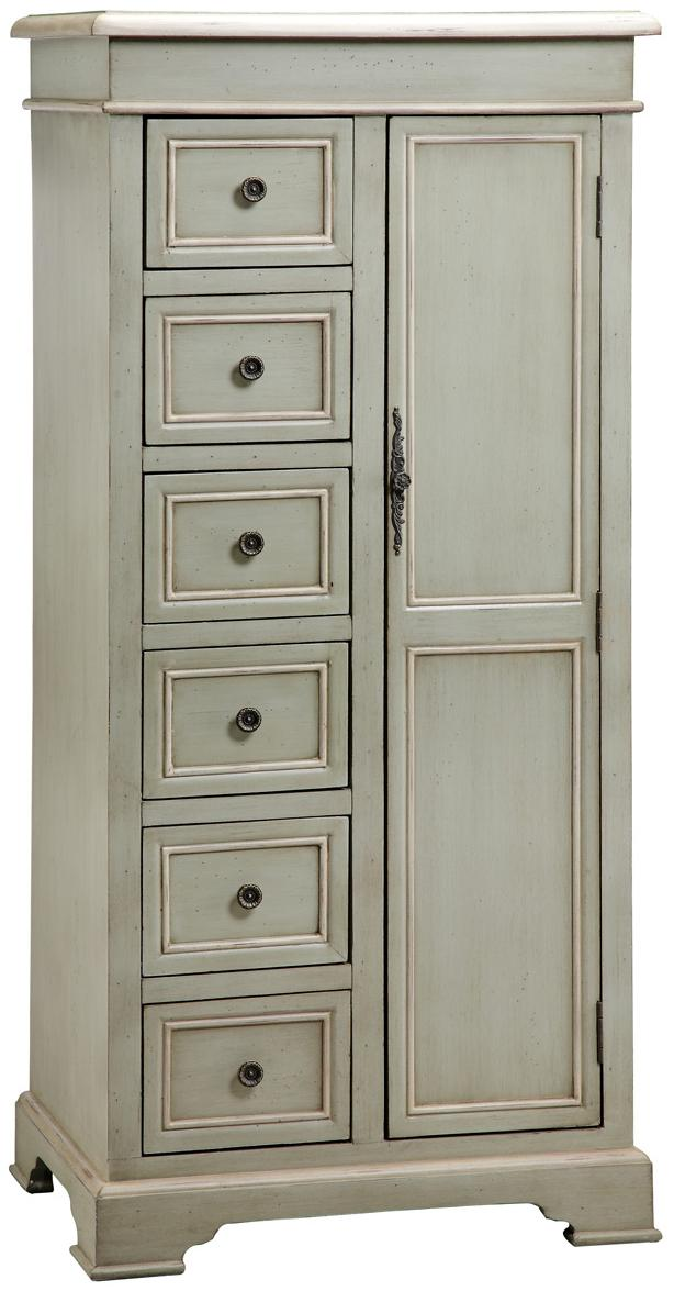 Tall Storage Cabinet w/ 6 Drawers  sc 1 st  Wolf Furniture & Tall Storage Cabinet w/ 6 Drawers by Stein World | Wolf and Gardiner ...