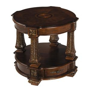 Stein World Traditional - Westminster Round End Table