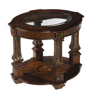 Stein World Traditional - Westminster Oval End Table