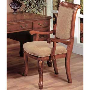 Steve Silver Harmony  Upholstered Seat Arm Chair