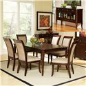 Steve Silver Marseille 8Pc Dining Room - Item Number: SSCMS8PCW