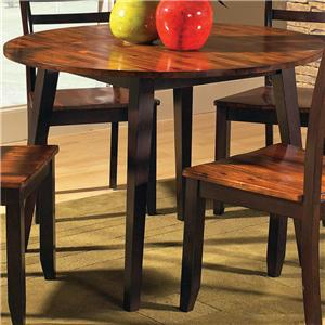 "Steve Silver Abaco 42"" Round Drop Leaf Leg Table"