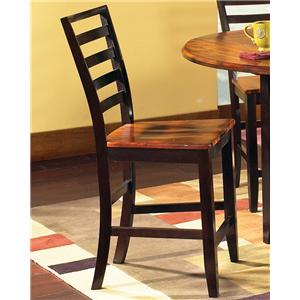 Steve Silver Abaco Ladder Back Counter Stool