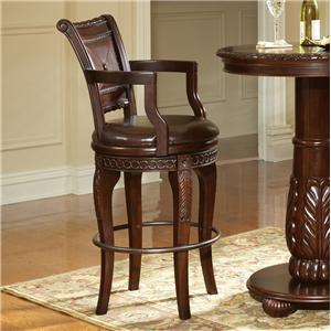 Steve Silver Antoinette Swivel Bar Chair