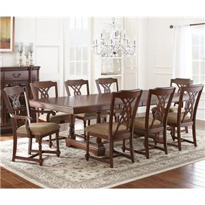 Steve Silver Archer 9 Piece Dining Set