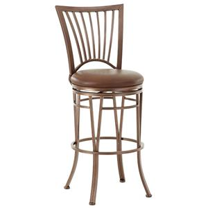 Steve Silver Baltimore Swivel Bar Chair