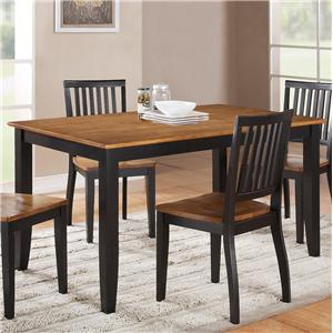 Steve Silver Candice Rectangular Dining Table