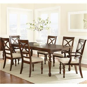 Steve Silver Caroline CL700 Dining Room Table Set